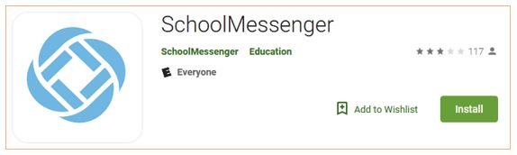 School Messenger App Logo